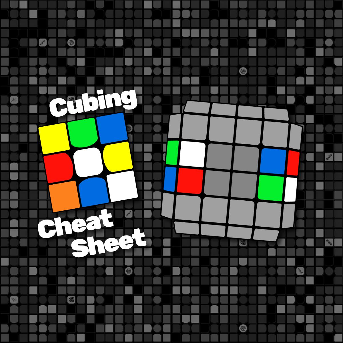 Dan's Cubing Cheat [Sheet] Site - 4x4 Reduction and Parity Algorithms