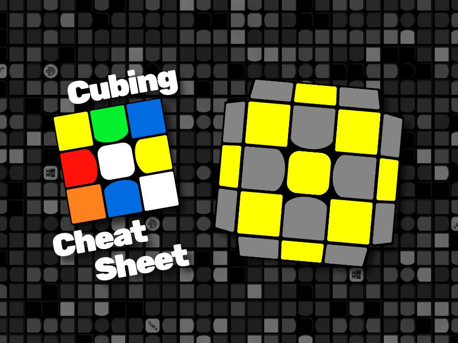 Dans Cubing Cheat Sheet